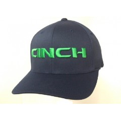 Cinch Green and Navy Flexfit Cap