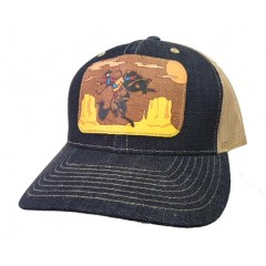 Cinch Ladies Denim Snap Back Cap
