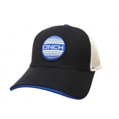 Cinch Youth Navy, Blue and White Snap Back Cowboy Cap