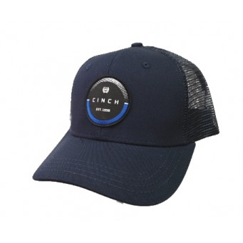 Cinch Navy Blue Trucker Cowboy Cap