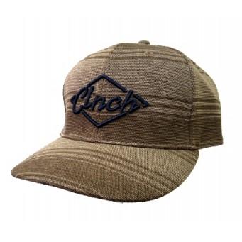 Cinch Brown and Navy Logo Snap Back Cowboy Cap