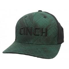 Cinch Forest Green & Black Cowboy Cap
