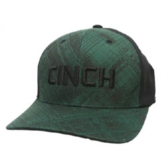 Cinch Forest Green & Black Cowboy Cap