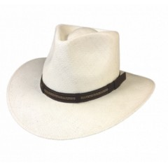 Dallas Hats Outback Panama 2 Fedora Panama Straw Hat