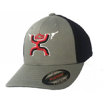 HOOey Guns Up Flexfit Youth Cap
