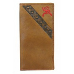 HOOey Roughy Signature Brown and Red Rodeo Wallet
