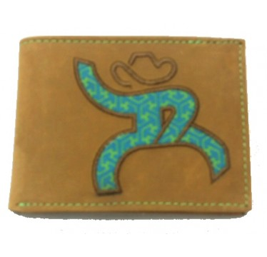 HOOey Roughy Tan Bi-Fold Wallet