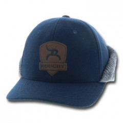 HOOey Out Cold Navy Grey Cowboy Cap