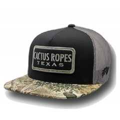 HOOey  Cactus Ropes Camo Cowboy Cap