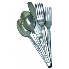 Moss Brothers Barbwire 20 Piece Flatware Set