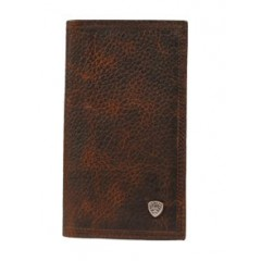 Ariat Dark Brown Rough Rodeo Wallet
