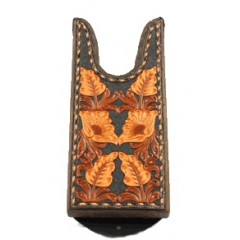 Ariat Large Boot Jack Leather Floral Tooled Top