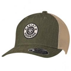 Ariat Green Snapback Cowboy Cap