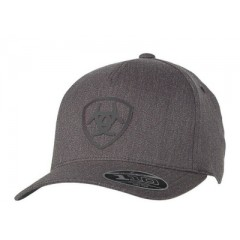 Ariat Charcoal Grey Flexfit Cowboy Cap