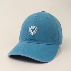 Ariat Ladies Lightwash Turquoise Cotton Cap