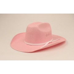 Twister by M&F Kids Light Pink Straw Cowboy Hat