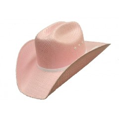 Double S Cowboy Hat  Pink Canvas Youth Cowboy Hats Great Price!