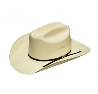 "Twister Cowboy Hat by M&F 8X Shantung Cattleman 3 1/2"" brim Straw Cowboy Hat"
