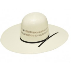 "Twister Bangora Open Crown 5"" Brim Straw Cowboy Hat"