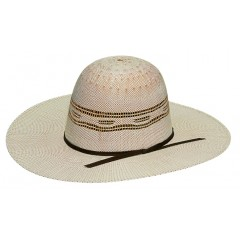 Twister Kids Open Crown Straw Cowboy Hat