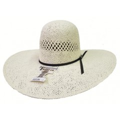 "Exclusively at  Westernhats.Com Twister Jute Open Crown 5"" Brim Straw Cowboy Hat"