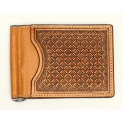 Nocona Natural Bi-Fold Money Clip