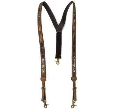 Nocona Belt Company Mossy Oak Camo Mens Western Suspenders
