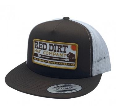 Red Dirt Hat Co. Arrows Brown/White Snapback Cowboy Cap