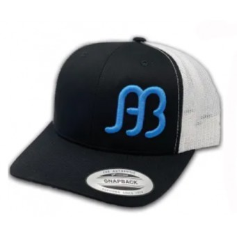 Red Dirt Hat Co. Anderson Bean Black/White Snapback Cowboy Cap