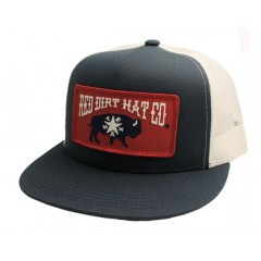 Red Dirt Hat Co. Republic of Texas Navy/White Snapback Cowboy Cap