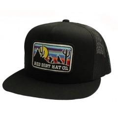 Red Dirt Hat Co.Coyote Black Snapback Cowboy Cap