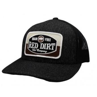 Red Dirt Hat Co. Roam Free Heather Black/Black Cowboy Cap