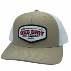 Red Dirt Hat Co. Broken Arrow Khaki Cowboy Cap