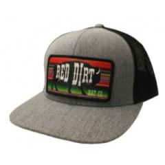 Red Dirt Hat Co. Serape Heather Grey/Black Cowboy Cap