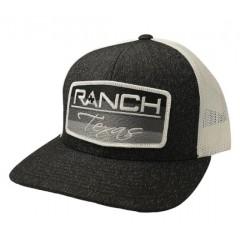 Red Dirt Hat Co. Ranch Texas Heather-Black Cowboy Cap