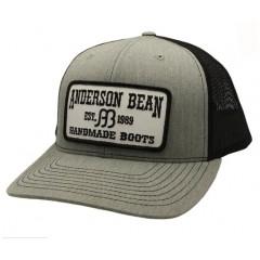 Anderson Bean Heather Grey/Black Snapback Cowboy Cap
