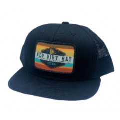 Red Dirt Hat Co. Army Sunset Youth Snapback Cowboy Cap