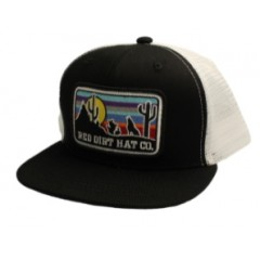 Red Dirt Hat Co. Coyote Black Youth Snapback Cowboy Cap