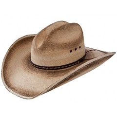 Jason Aldean Cowboy Hat Georgia Boy Resistol Palm Straw Cowboy Hat