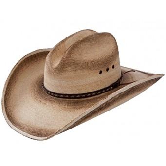 Jason Aldean Cowboy Hat Georgia Boy As Worn On THE VOICE Finale Resistol Palm Straw Cowboy Hat