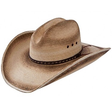 Jason Aldean Cowboy Hat Georgia Boy As Worn On THE VOICE Finale Resistol Palm Straw Cowboy Hat
