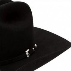 "Resistol 20X Black Gold 4 1/2"" Brim Felt Cowboy Hat"