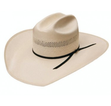Resistol Cut Bank 20X Straw Cowboy Hat