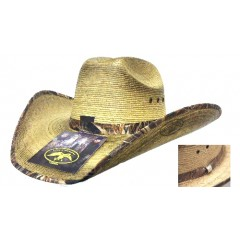 Duck Dynasty Duck Commander By Resistol Junior Mallard Palm Straw Cowboy Hat