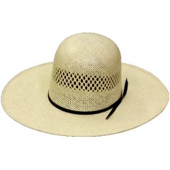Rodeo King Cowboy Hat Toyo 15X Open Crown Straw Cowboy Hat