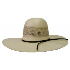 "Rodeo King Cowboy Hat 25X All Around Open Crown 4 1/2"" Brim Cowboy Hat"