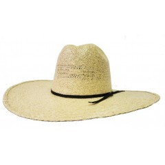 "Rodeo King Cowboy Hat 25X Burlap Open Crown 4 1/2"" Brim Cowboy Hat"