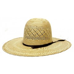 "Rodeo King Cowboy Hat Two Tone Dusty 4 1/4"" Brim Straw Cowboy Hat"