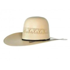 "Rodeo King Cowboy Hat 25X Highpoint Open Crown 4.5"" Brim Cowboy Hat"