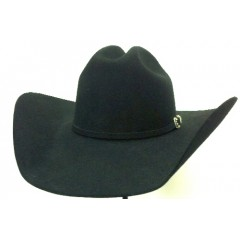 "Stetson® Cowboy Hat 6X Skyline Black 4.5"" Brim 100% Pure Felt Cowboy Hat"
